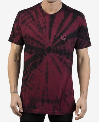Neff Men's Smiley Tie-Dyed Logo T-Shirt