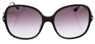 Bvlgari Round Embellished Sunglasses