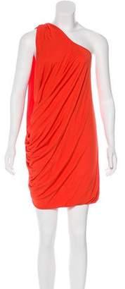 Yigal Azrouel Cut25 by One-Shoulder Mini Dress