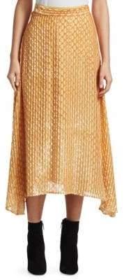 Rachel Comey Gimlet Burnout Midi Skirt