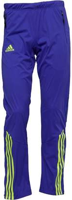adidas Mens Xperior Soft Shell Pants Night Flash/Solar Yellow/Pool