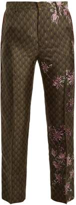 F.R.S - FOR RESTLESS SLEEPERS Tartaro floral-print satin pyjama trousers