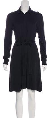 HUGO BOSS Hugo by Wool and Silk Knee-Length Dress