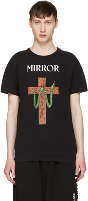 Off-White Black Snake Mirror T-Shirt $315 thestylecure.com