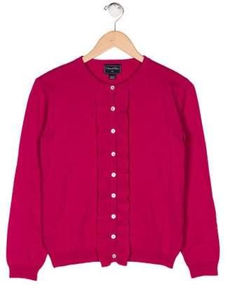 Oscar de la Renta Girls' Wool Cardigan