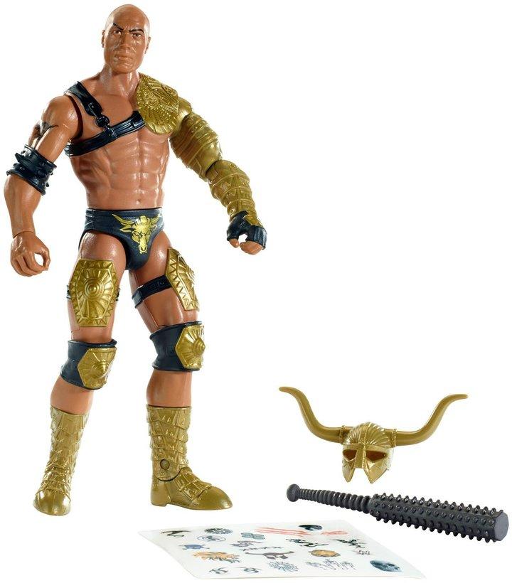 WWE Create A Superstar The Rock Figure Pack