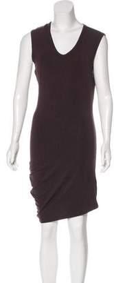 Alexander Wang Asymmetrical Knit Dress