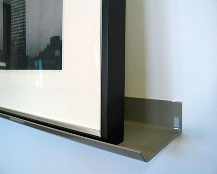 Hivemindesign Powdercoated Picture Ledge