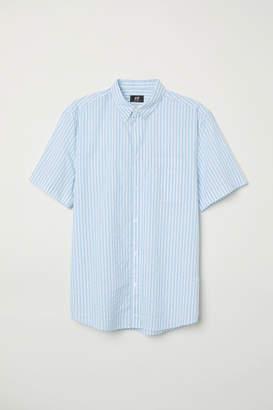 H&M Regular Fit Cotton Shirt - White