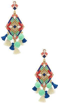 Rebecca Minkoff Geo Stone Earrings