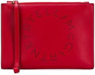 Stella McCartney logo clutch bag