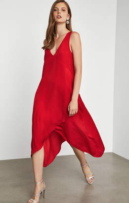 BCBGMAXAZRIA Handkerchief Hem Dress