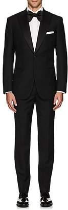 Brioni Men's Wool One-Button Tuxedo - Black