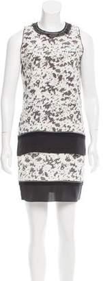 Jonathan Simkhai Printed Silk Dress