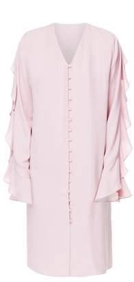 DIANA ARNO - Flo Long Sleeve Midi Dress In Blossom Pink