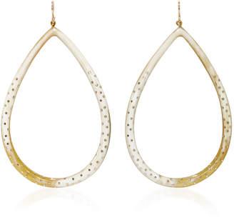 Ashley Pittman Kambi Horn and Bronze Earrings