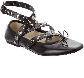 Butter Shoes Beaute Leather Ballerina Flat