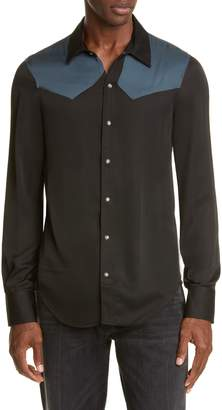 BILLY Los Angeles Western Snap-Front Shirt
