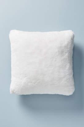 Anthropologie Fireside Faux Fur Pillow