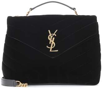 c9314b86d104 Saint Laurent Small Loulou Monogram shoulder bag