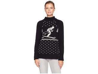 Chaps Cotton Blend Long Sleeve Sweater Women's Sweater