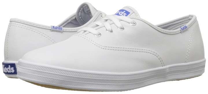 Keds - Champion-Leather CVO (White Leather) - Footwear