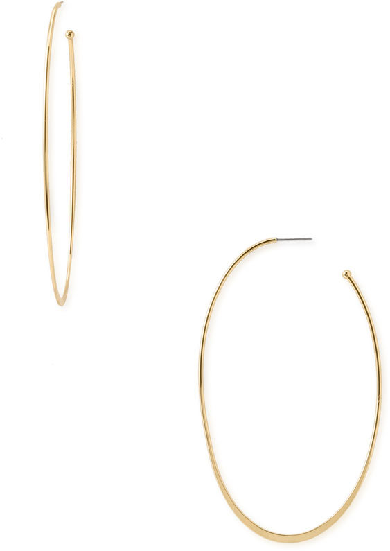 Nordstrom Thin Hoop Earrings