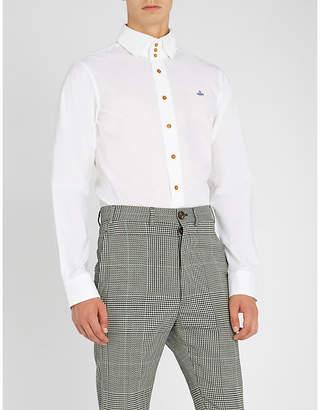 Vivienne Westwood Three-button stretch-cotton shirt