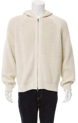 Vince Knit Hooded Zip-Up Sweater w/ Tags