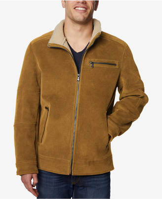 Buffalo David Bitton Men's Corduroy Jacket with Fleece-Lined Collar
