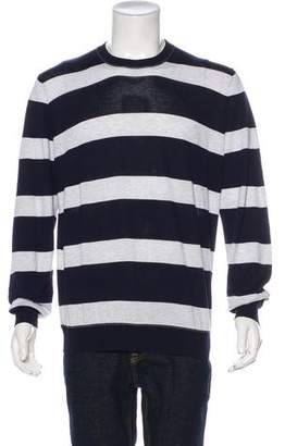 Brunello Cucinelli Striped Crew Neck Sweater