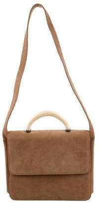 4c92b8157954 Ralph Lauren Suede Handbag - ShopStyle