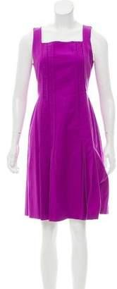 Akris Punto Sleeveless A-Line Mini Dress