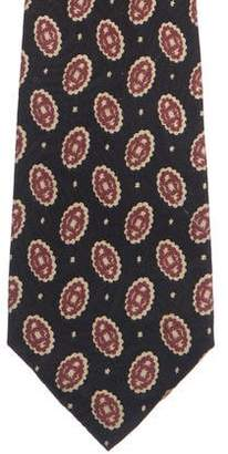 Tiffany & Co. Ornate Print Silk Tie