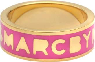 Marc by Marc Jacobs Logo Disc-o Band Ring