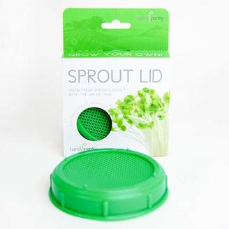 Handy Pantry Sprouting Jar Strainer Lid - Fits Wide Mouth Jars - For Growing Sprouts & Other Uses