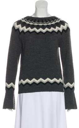 RED Valentino Wool Crew Neck Sweater