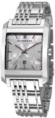 Burberry Men's 'Square' Swiss Quartz Stainless Steel Dress Watch