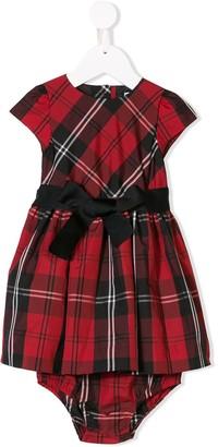 Ralph Lauren Kids tartan print dress