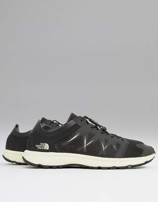 The North Face (ザ ノース フェイス) - The North Face Litewave Flow Lace Sneakers in Black/White