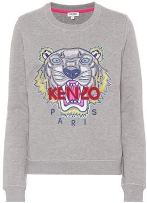 Kenzo Tiger Logo cotton sweatshirt
