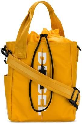 Sale Perfect Cheap Sale Explore F-fold bucket shoulder bag - Yellow & Orange Diesel Cheap Sale Outlet Store Clearance Sneakernews mkk4w