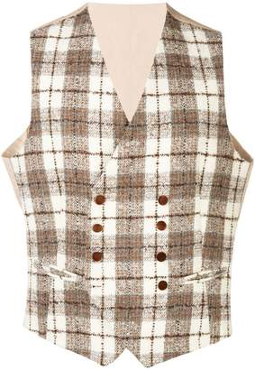 Tagliatore Klaus double-breasted waistcoat