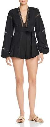 Alice McCall Pintuck-Pleated Romper