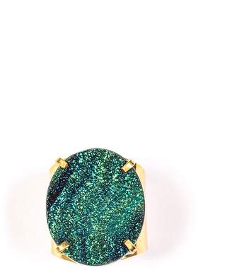 Tiana Jewel - Steffy Blue Metallic Druzy Ring