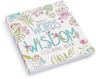 Eccolo Words of Wisdom Colouring Book