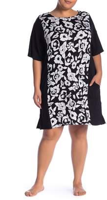 DKNY Short Slip Shirt (Plus Size)