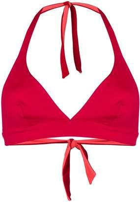 Fisico reversible triangle bikini top