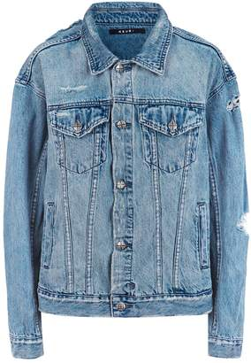 Ksubi Oversized Distressed Denim Jacket