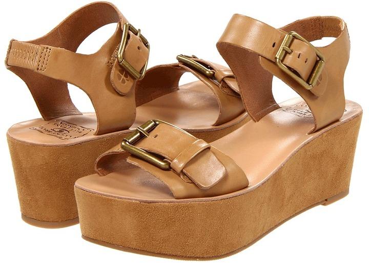 Lucky Brand - Gracelynn (Camel) - Footwear